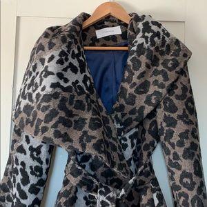 TAHARI Wrap jacket sz med